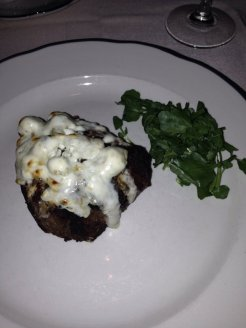 Gorgonzola-crusted Filet Mignon