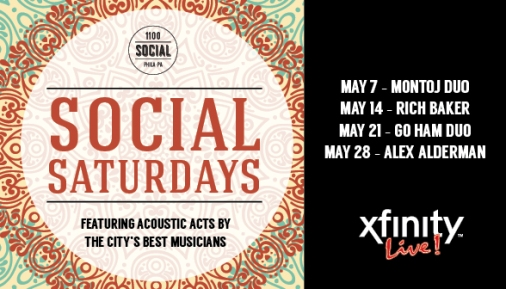 May Social Saturdays