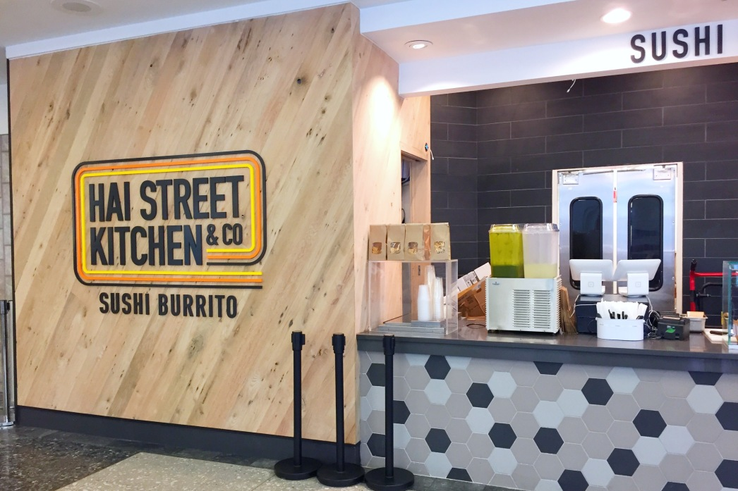 hai street kitchen co is waiting to greet you at the entrance to the food court in liberty place checking out the menu it is easy to see creativity is - Hai Street Kitchen