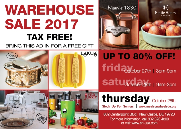 Warehouse Sale 2017